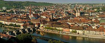 Blick auf Würzburg Würzburg