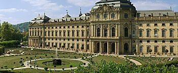 Residenz im Hofgarten Würzburg